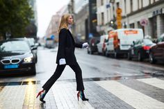 Street Style: Stockholm Fashion Week | ZsaZsa Bellagio - Like No Other