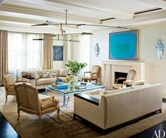 A Dated Manhattan Apartment Becomes a Refined Pied-à-Terre Photos | Architectural Digest