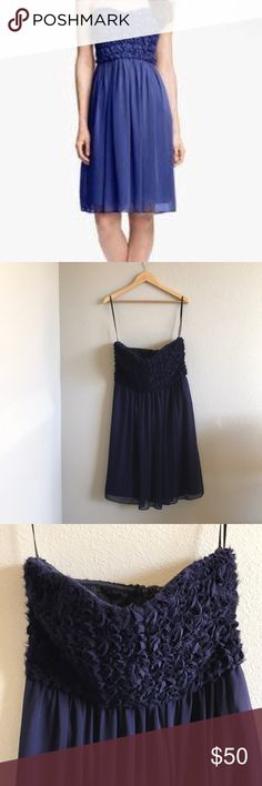 NWT Calvin Klein Strapless Purple Dress New with tags. No flaws.18.5 pit to pit. 33 length. Calvin Klein Dresses Mini