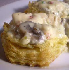 Chicken A La King Recipe - My husband's favorite! I add a can of cream of mushrooms.