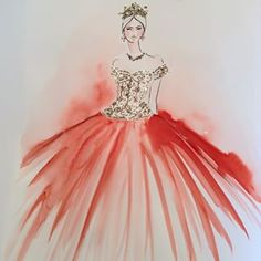 Inspired by Dolce & Gabbana Alta Moda Fashion Terms, Fashion Art, Fashion Show, Womens Fashion, Black Hood, Cute Paintings, Italian Fashion, Dressmaking, Ball Gowns