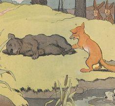 Le roman du Renard / adaptation de J. Leroy-Allais ; illustrations de Benjamin Rabier   Gallica