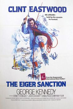 The Eiger Sanction (1975) Original One-Sheet Movie Poster
