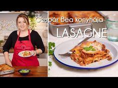 Gáspár Bea lasagnéja   Mindmegette.hu - YouTube Ciabatta, Bologna, Mozzarella, Youtube, Lasagna, Youtubers, Youtube Movies