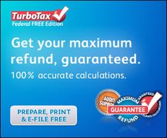 Find out why TurboTax is the #1 Rated, Best-Selling tax software brand year after year! Get your biggest tax refund guaranteed- FREE