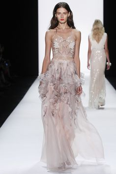 See the Badgley Mischka spring/summer 2016 collection. Click through for full gallery at vogue.co.uk