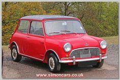 Austin Mini Cooper S 1965. Given a 1,275cc twin carb engine in 1964, the Mini Cooper 1275 S continued until 1971