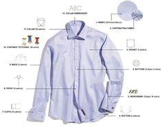 Types of Business Shirt Collars | DVS Wedding | Pinterest ...
