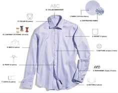 John Byron Custom Tailored Shirts | Men's Fashion | Pinterest ...