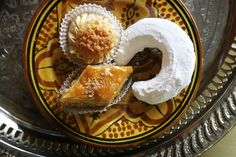 Extravagantly flaky baklava scented with hazelnuts. (Photo: Ed Alcock for The New York Times)