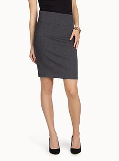 Women's Skirts: Shop for a Long or Short Skirt Online in Canada Short Skirts, Mini Skirts, Women's Skirts, Top Colour, Stretches, Chic, Stylish, Work Outfits