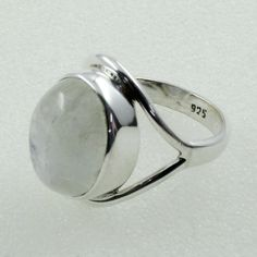 Rainbow Moon Stone Unique Design 925 Sterling Silver Ring by JaipurSilverIndia on Etsy