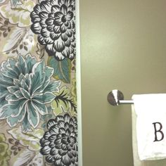 My new bathroom  Shower curtain & towel: kohl's