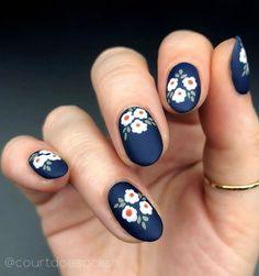 Nail Art Designs, Nail Designs Spring, Nail Designs Floral, Nails Design, Nail Art Ideas, Spring Nail Art, Spring Nails, Cute Nails, Pretty Nails