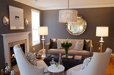 Living Room with Fireplace Layout Ideas   aHOMELIVE