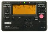 KORG DIGITAL METRONOME/TUNER COMBO - Full tuner and metronome functions, separately or simultaneously. Tuner has built-in mic, reference tone, & adjustable calibration. Metronome with full tempo range, plus 13 beats & rhythms. Top seller with serious x