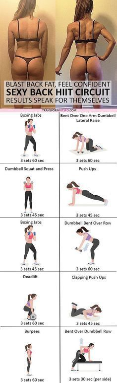 #womensworkout #workout #femalefitness Repin and share if this workout gave you sexy toned back! Click the pin for the full workout. #fitnessblenderhiit,