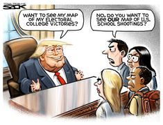 Steve Sack (2018-02-22) USA: Donald Trump, school shootings