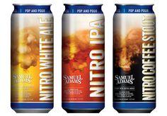 Reviews of Samuel Adams Nitro Project beers, including Nitro White Ale, Nitro IPA and Nitro Coffee Stout.
