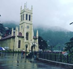 This is not the shimla which I used to know this time it was a great and different experience and weather made this possible.  #Shimla #travel #India #india_gram #highwaymonks #clouds #Church #british #indianroads #historical #monsoon #solotrip #instavacation #travelporn #travelphotography #filmykeeday #passion #motorbiking #igtravel #gopro #getout #adventuretime