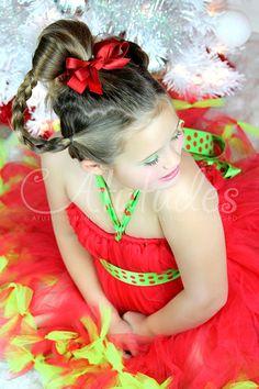 Atutudes Cindy Lou Who Grinch Petti Tutu Dress.  Gorgeous Grinch inspired tutu dress by @atutudes.etsy.com
