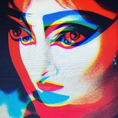 'Siouxsie and the blurrrr 2018 - Available at Hello Gorgeous Art, Kemptown, Brighton Siouxsie Sioux, Siouxsie & The Banshees, Art Music, Music Artists, Alternative Rock Bands, Robert Smith, Unicorn Art, China Dolls, Marilyn Manson