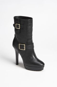 Jimmy Choo 'Dylan' Biker Mid Boot available at #Nordstrom (www.norstrom.com) $1,150.00 (hot damn!)