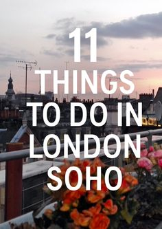 The Soho neighborhood of London is way more fun that you probably think — learn what to do & see in this local guide to Soho in London Soho, London 2016, London Attractions, Voyage Europe, Things To Do In London, England And Scotland, London Calling, London Travel, London England