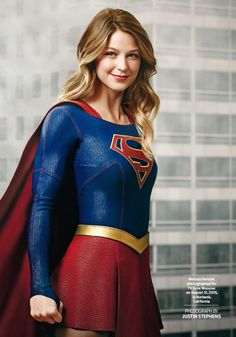 """SUPERGIRL Melissa Benoist on the cover & featured in the 26 October 2015 issue of the US' """"TV Guide"""" magazine. Page 21"""