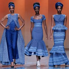 Ankara African traditional wedding dresses shweshwe-wedding-on- African Inspired Fashion, African Print Fashion, Africa Fashion, African Print Dresses, African Fashion Dresses, African Dress, African Prints, African Attire, African Wear