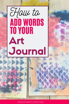 Journal Paper, Art Journal Pages, Art Journals, Art Journal Inspiration, Journal Ideas, Art Journal Tutorial, Alphabet Stencils, Smart Art, Pen Art