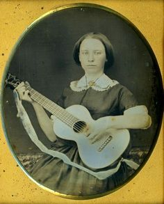 Woman playing guitar, Mid Learn ukulele the easy way in 6 days at… Old Pictures, Old Photos, Vintage Photographs, Vintage Photos, Best Guitar Players, Popular Photography, Old Music, Guitar For Beginners, Cool Guitar
