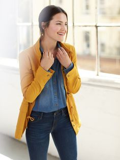 Fall Jackets 2016 I'd love this Mustard jacket in my next fix!!