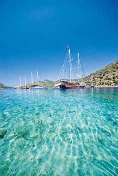 Göcek, Turkey where I worked for Swissotel!