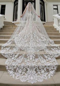 Blue by Enzoani Marianna Wedding Dress Wedding Dress With Veil, Wedding Dress Trends, Wedding Veils, Dream Wedding Dresses, Bridal Dresses, Our Wedding, Short Dress Wedding, Vera Wang Wedding Dresses, Bridesmaid Gowns