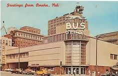 Omaha Greyhound bus depot