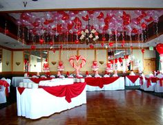 valentine dance decoration | Wedding Full of Hearts