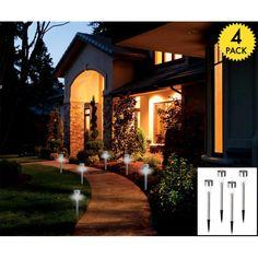 4-Pack Solar LED Lights : $12 + Free S/H (reg. $60) http://www.mybargainbuddy.com/4-pack-solar-led-lights-12-free-sh