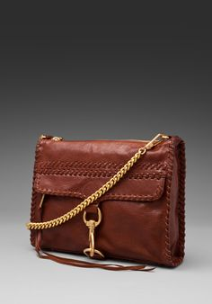 REBECCA MINKOFF Whipstitch Mac in Brown at Revolve Clothing - Free Shipping!