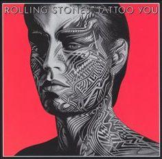 Peter Corriston, Original Vintage Mick Jagger Poster The Rolling Stones Tattoo You Album Design, 1981 The Rolling Stones, Rolling Stones Tattoo, Rolling Stones Album Covers, Rolling Stones Albums, Iconic Album Covers, Rock Album Covers, Classic Album Covers, Music Album Covers, Music Albums