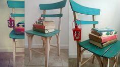 Silla reciclada, diseño vintage.