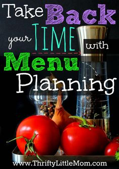 Take Back Your Time with menu planning.  Menu planning and shopping lists can be long and involved but there is an easier way! #eMeals #sponsored