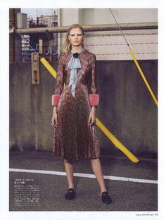 Madame Figaro Japan September 2015, Tereza Smejkalova