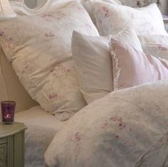 Rachel Ashwell Shabby Chic, Silk Ikat bedding. Silky soft.