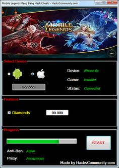 Mobile Legends Hack No Human Verification No Survey? Mobile Legends Hack Tools — No Verification — Unlimited Diamonds (Android and Ios) Mobile Legends Hack Cheats! Episode Choose Your Story, App Hack, Android Hacks, Iphone Mobile, Free Gems, Hack Online, Cheat Online, Mobile Legends, Mobile Game