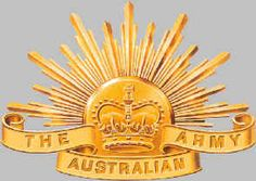 The Rising Sun - symbol of the Australian Army