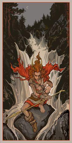 Ready for some Ragnarok? by SceithAilm.deviantart.com on @deviantART HELL YEAHHH, I'm allways ready for Loki ;)