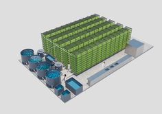 Harnessing Indoor Agriculture To Ensure Global Food Security: The Edenworks Farmstack is an automated, vertical, indoor aquaponic farm.