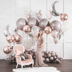 A mother is your first friend, your best friend, your forever friend. Baby Shower Balloons, Baby Shower Fun, Birthday Balloons, Baby Shower Parties, Baby Boy Shower, Ballon Decorations, Birthday Decorations, Diy Baby Shower Decorations, Balloon Backdrop