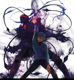 Fate/Zero - Berserker and Kariya Matou